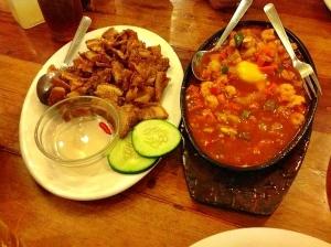 セブ島フィリピン料理 STK|食事