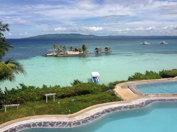 ボホール島のビーチリゾート Panglao nature