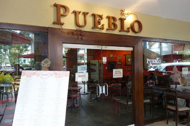 PUEBLO MEXICAN BTCのレストラン|フィリピン留学