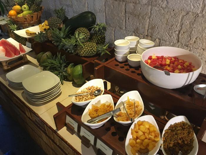 「Allegro」の朝食ブッフェ