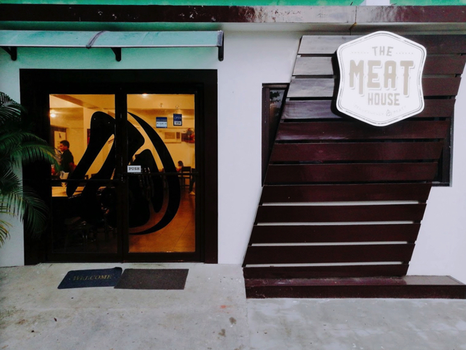 TARGETの周辺環境THE MEAT HOUSE