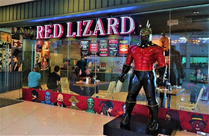 Claire Red Lizard 12 6 10 1