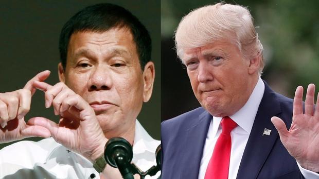 philippines duterte trump 1