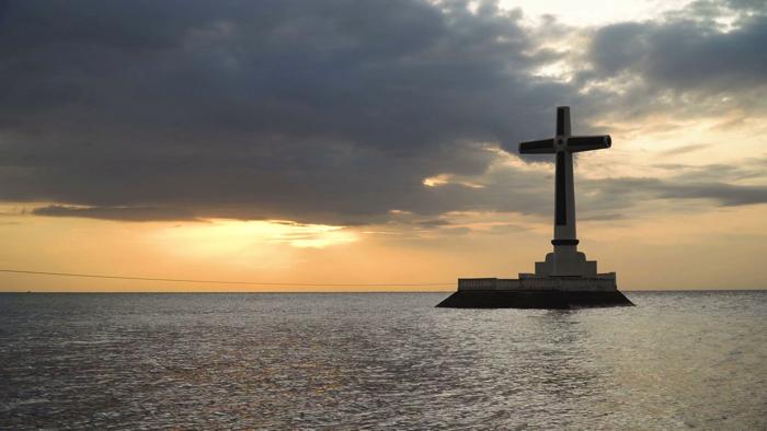 カミギン島の十字架