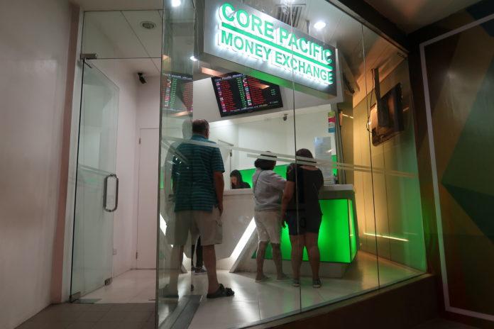 AyalaMallsCebu(アヤラモール)の両替店