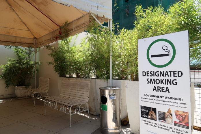 AyalaMallsCebu(アヤラモール)の喫煙所