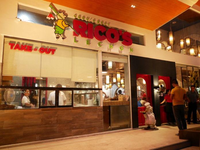 RICO'S LECHON(リコズ・レチョン)の外観