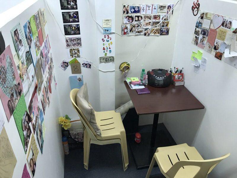 TARGETの個室