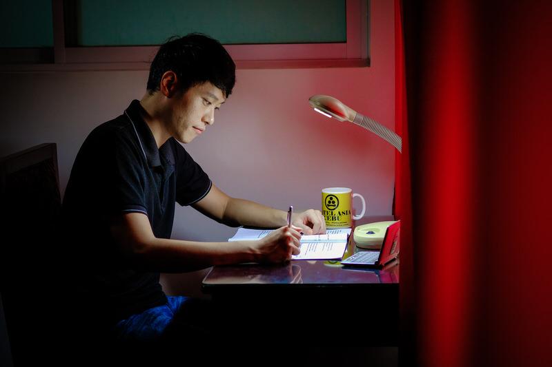 英語の勉強する