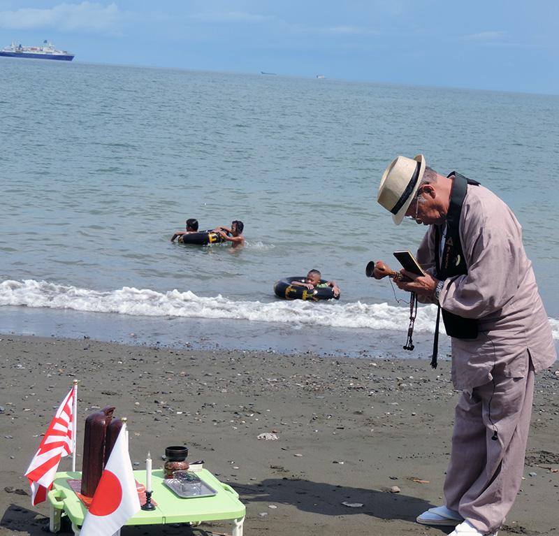 タリサイの海岸2